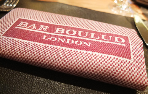 Bar Boulud Review